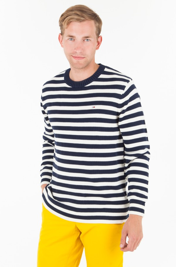 TJM ESSENTIAL STRIPE SWEATER
