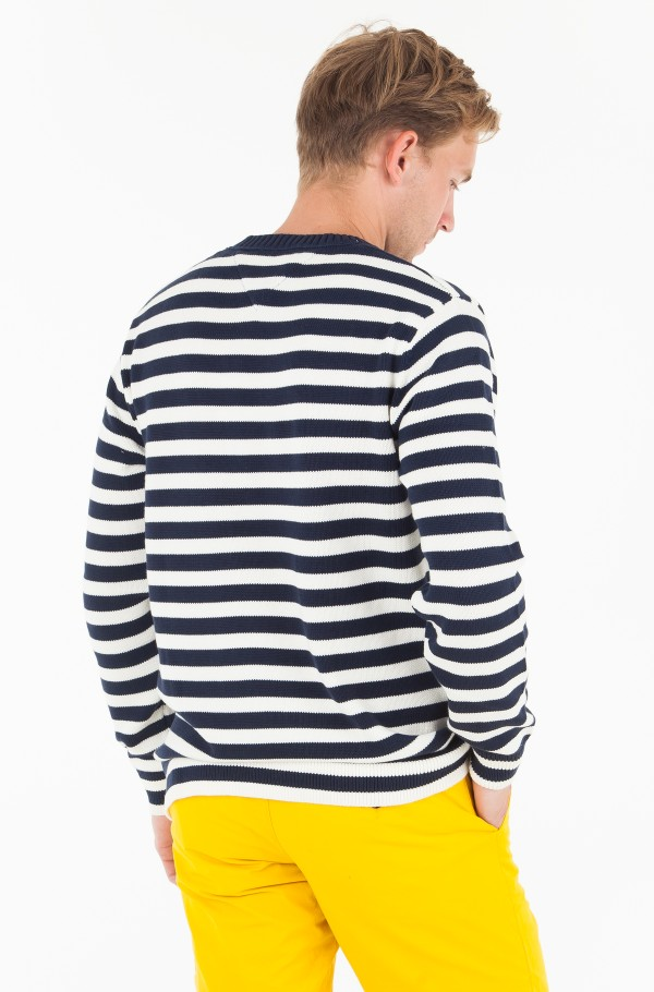 TJM ESSENTIAL STRIPE SWEATER-hover
