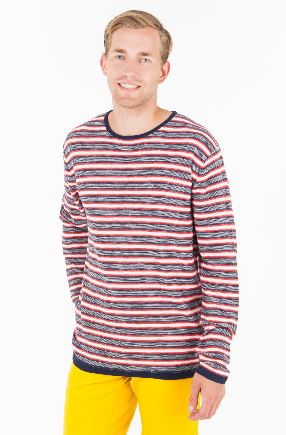 Sweater TJM MULTI STRIPE SWEATER	-full-1