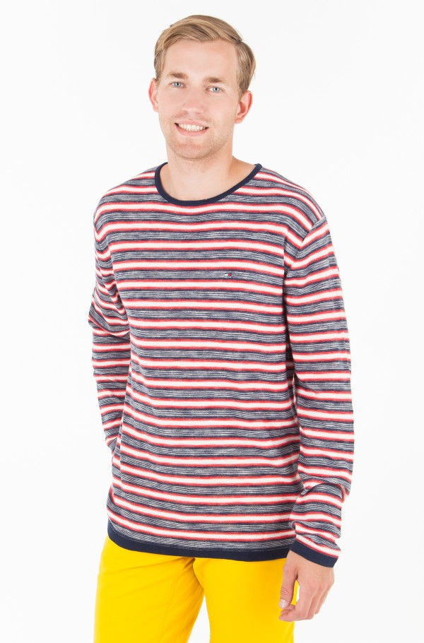 TJM MULTI STRIPE SWEATER