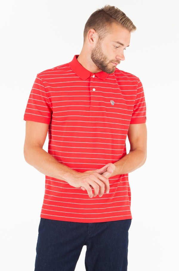TJM FINE STRIPE POLO