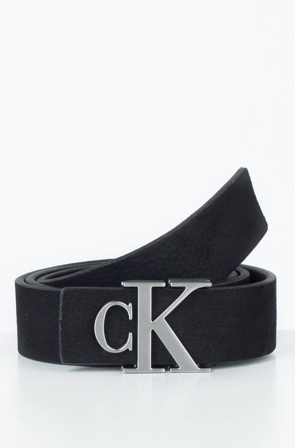 J MONOGRAM LEATHER BELT 3CM
