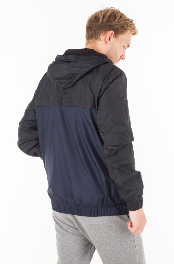 COLOR BLOCK HOODED JACKET-hover