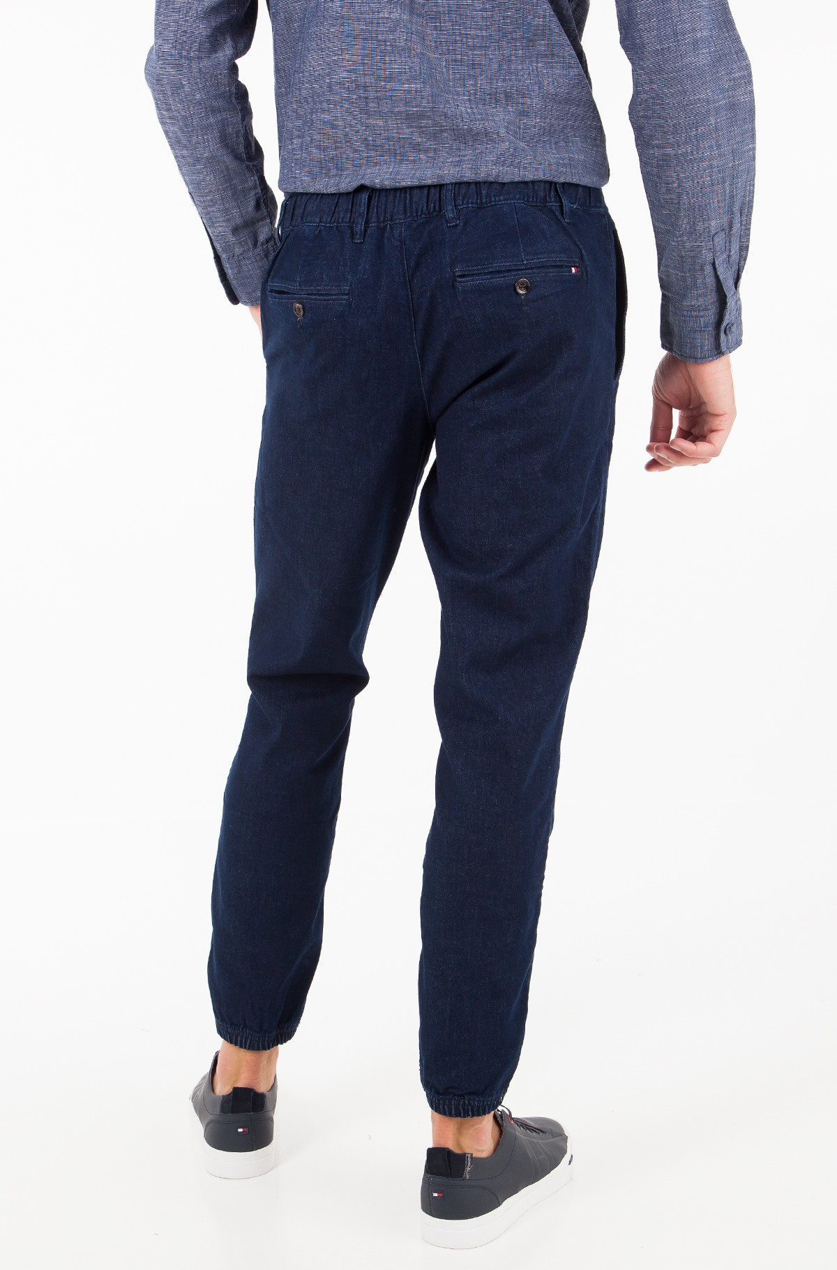 Teksapüksid STRAIGHT ACTIVE PANT STR INDIGO-full-2