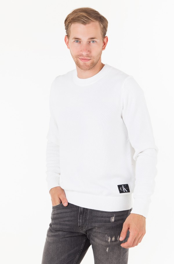 MONOGRAM LOGO COTTON SWEATER