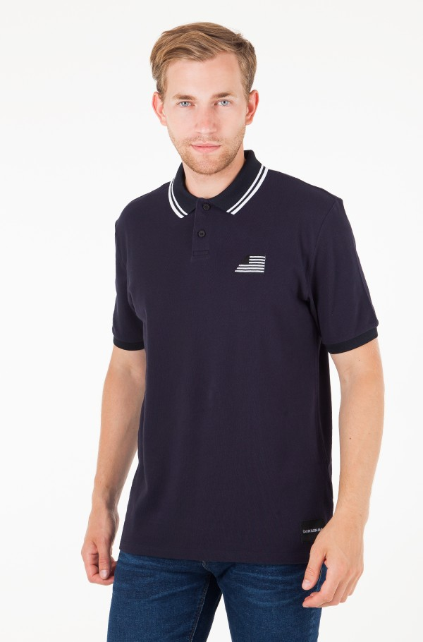 FLAG EMBROIDERY POLO