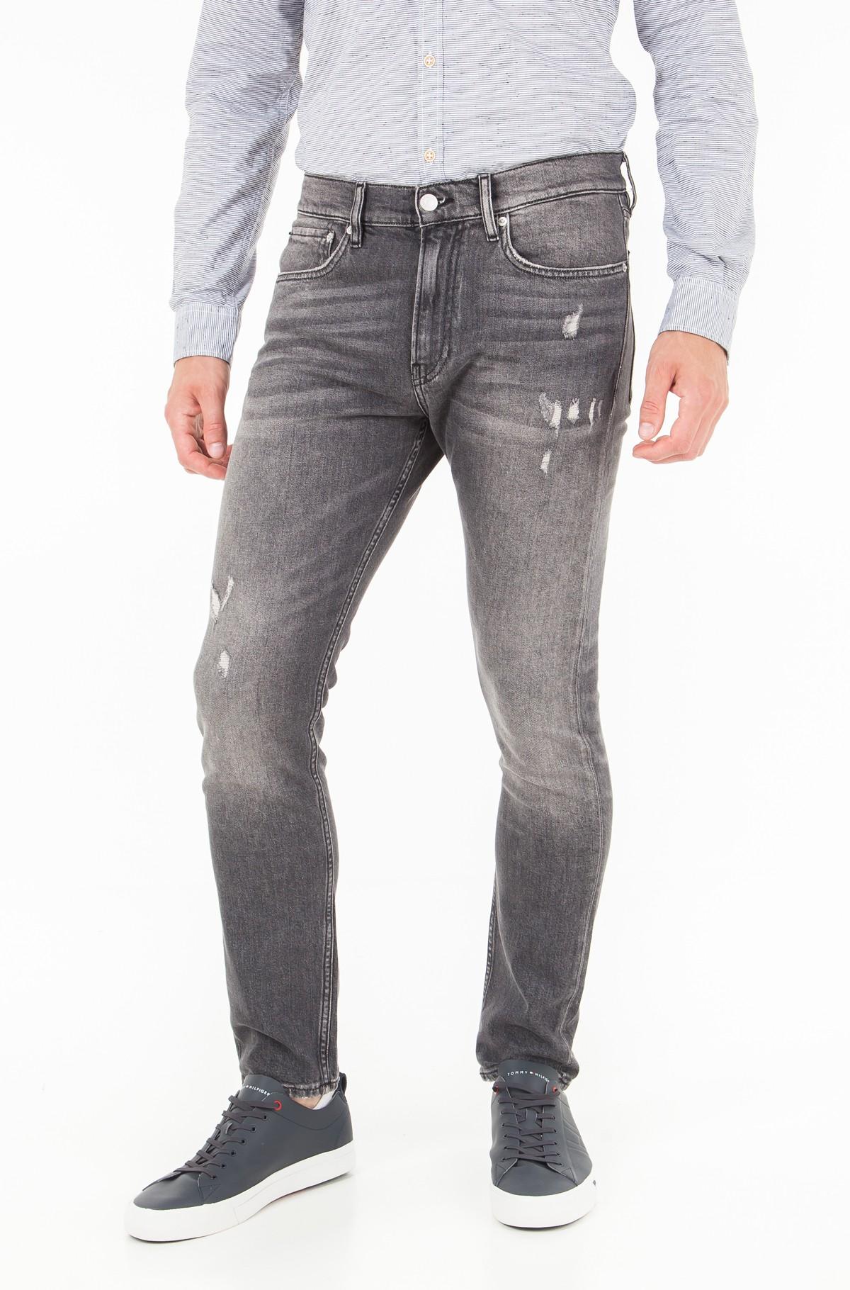 Džinsinės kelnės CKJ 016: Skinny West - Shattuca Black-full-1