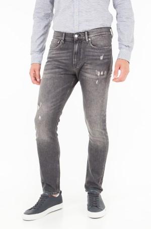 Džinsinės kelnės CKJ 016: Skinny West - Shattuca Black-1