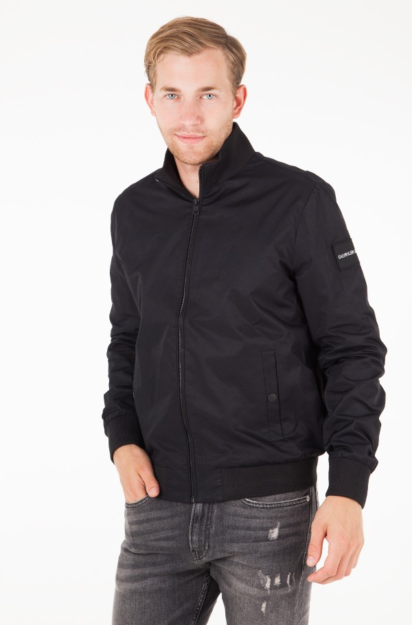 DOUBLE SIDE POCKET ZIP THROUGH BOMBER