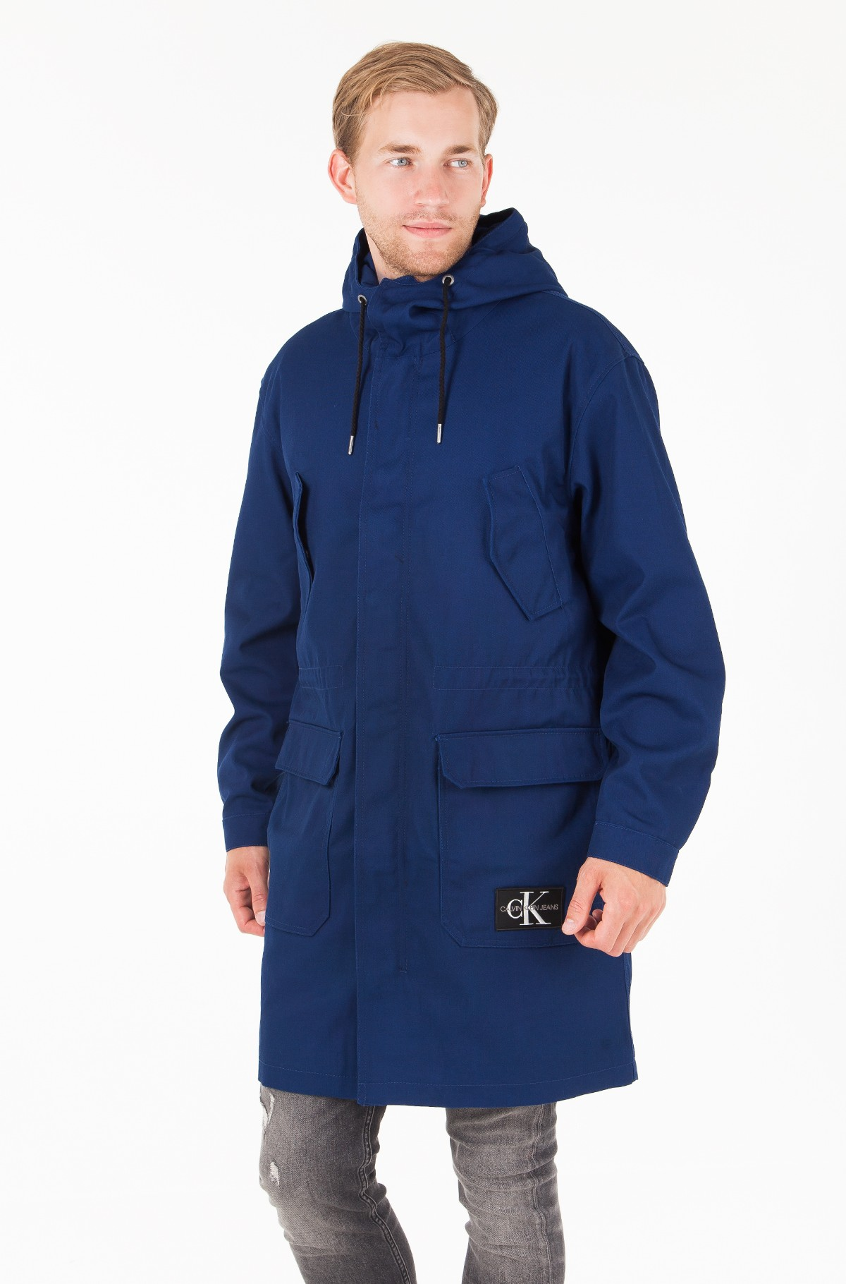 Parka MID LENGTH ZIP THROUGH HOODED PARKA-full-1