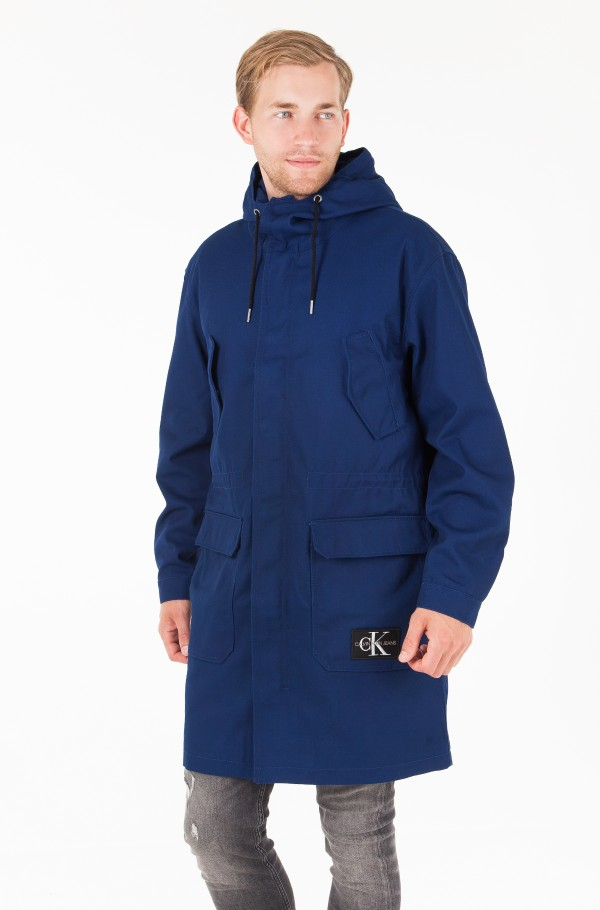 MID LENGTH ZIP THROUGH HOODED PARKA