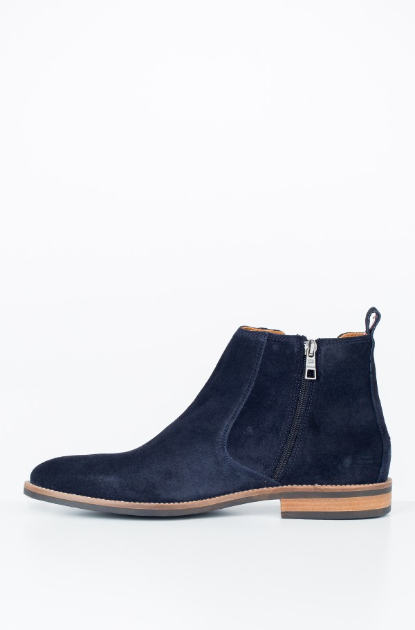 ESSENTIAL SUEDE CHELSEA BOOT-hover