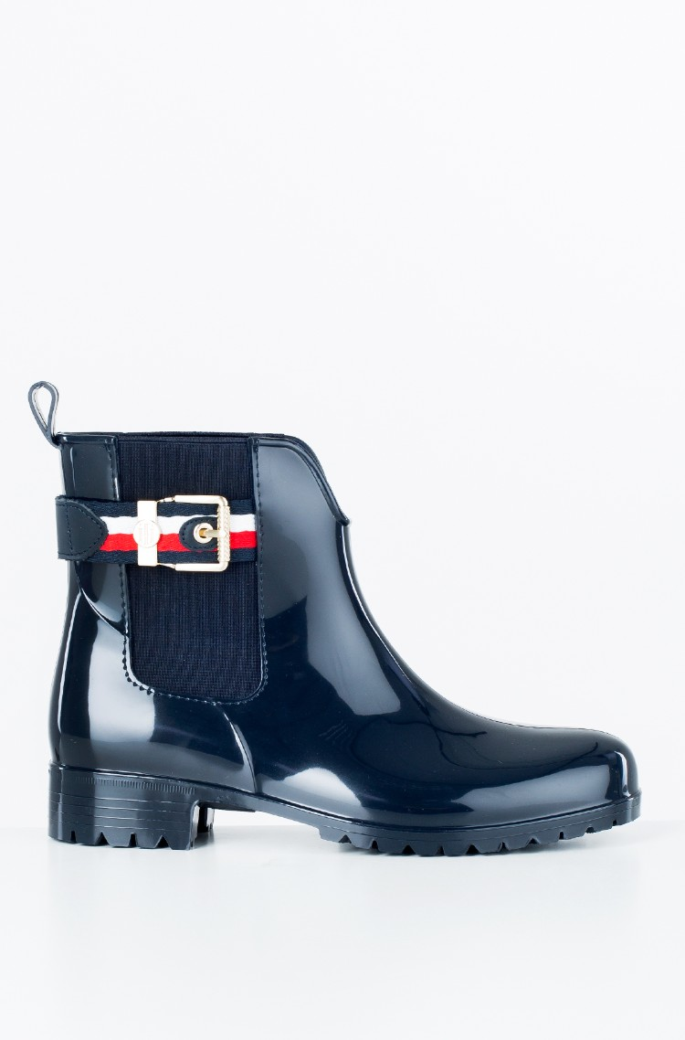f67d4d3157 sini Rubber boots CORPORATE BELT RAIN BOOT Tommy Hilfiger, Womens ...
