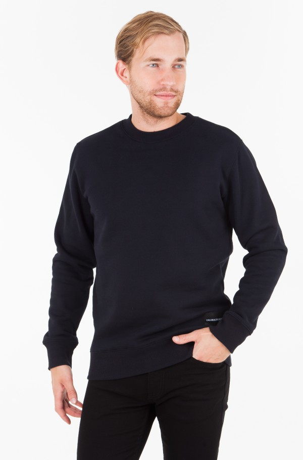 BACK SATEEN BONDED SWEATSHIRT
