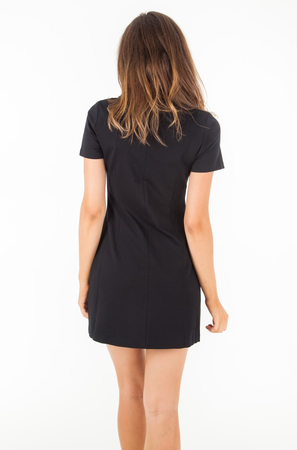 SHORT SLEEVE MILANO DINER DRESS-hover