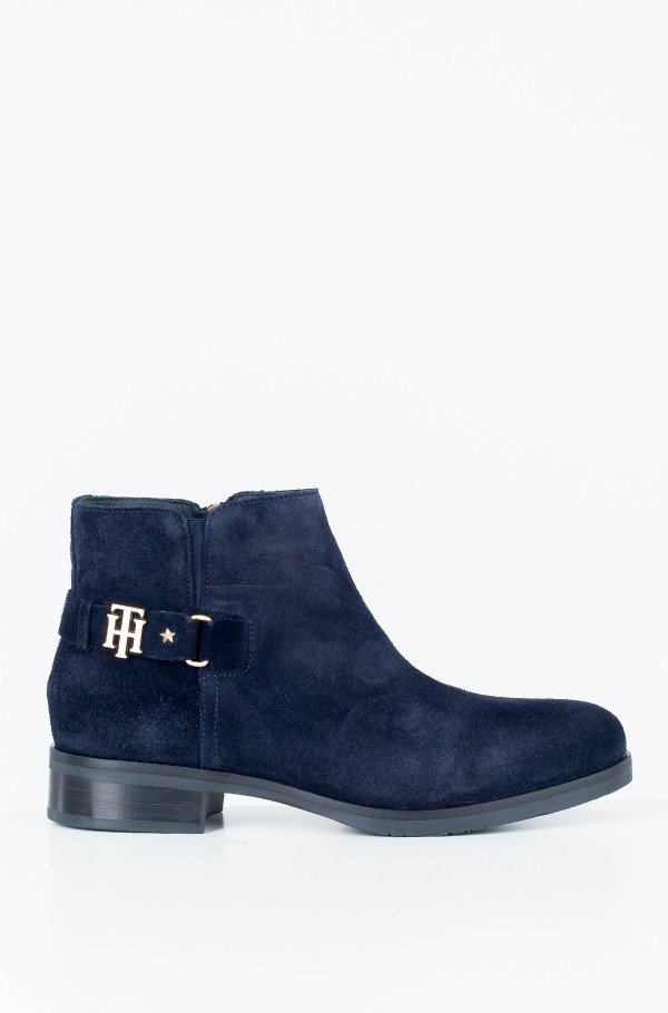 TH BUCKLE SUEDE BOOTIE
