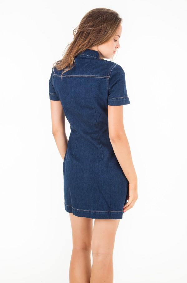 Zip Front Diner Dress-hover