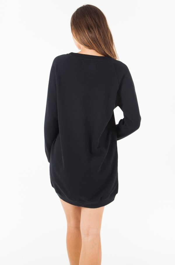 INSTITUTIONAL BOX LOGO SWEATSHIRT DRESS-hover