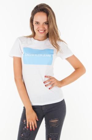 T-shirt INSTITUTIONAL BOX LOGO REGULAR FIT TEE-1