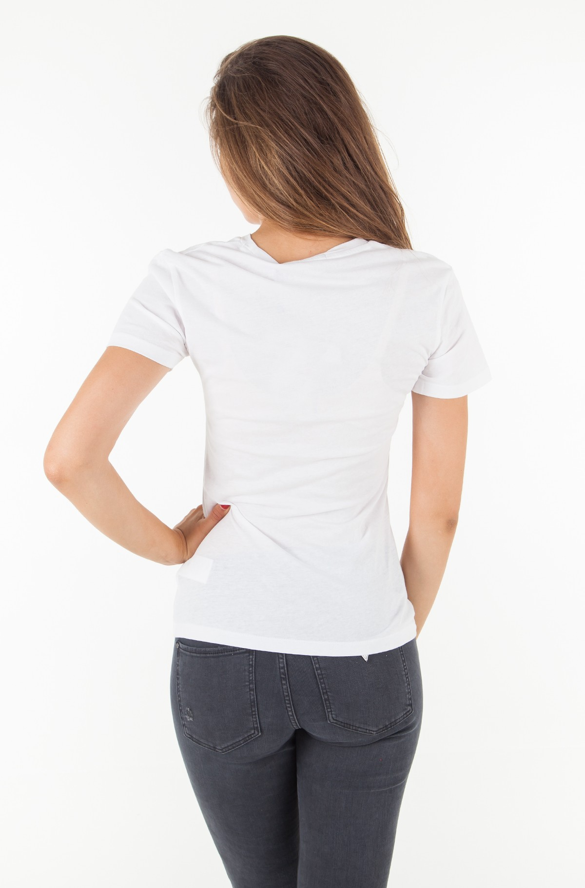 T-shirt INSTITUTIONAL BOX LOGO REGULAR FIT TEE-full-2