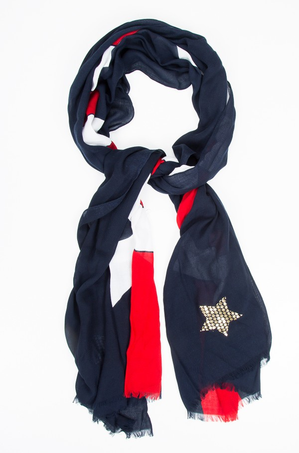 TOMMY METALLIC SCARF