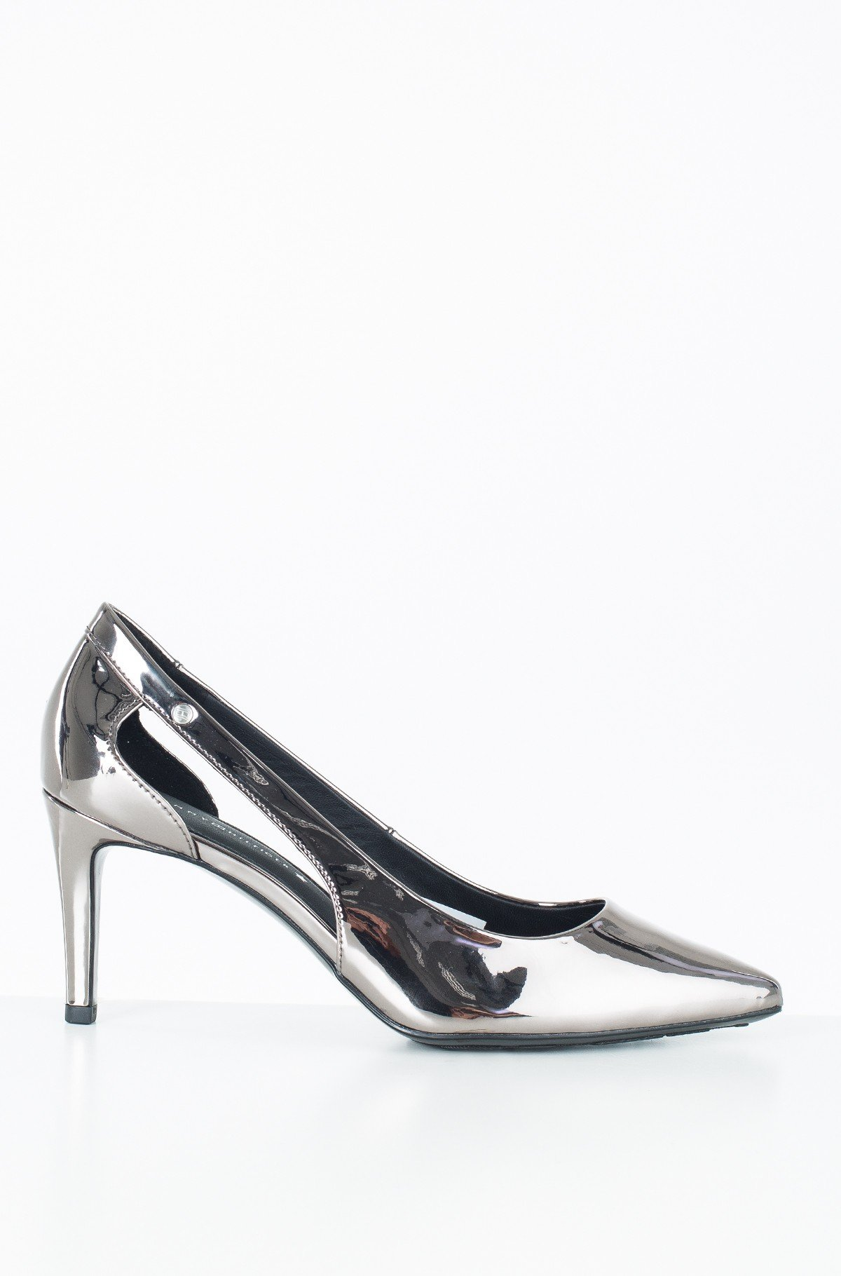Kingad MIRROR METALLIC CUT OUT PUMP-full-1