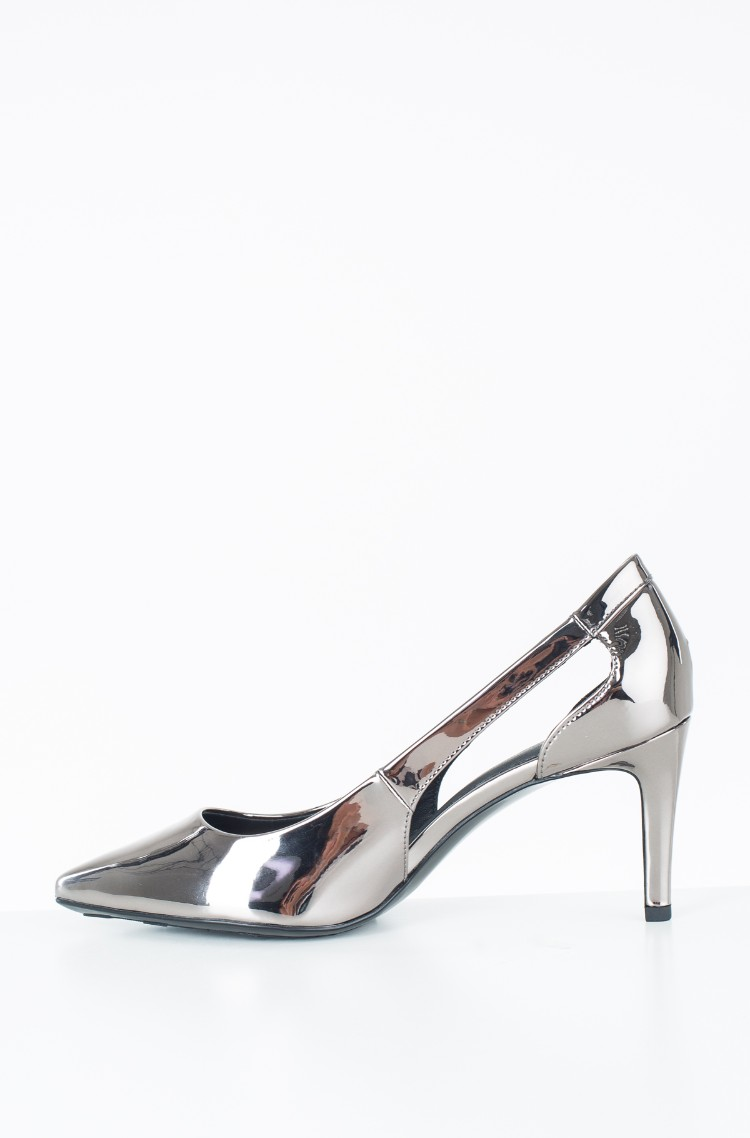 83ea7644ea2c Silver Shoes MIRROR METALLIC CUT OUT PUMP Tommy Hilfiger