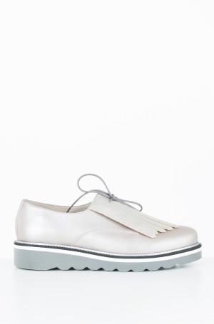 Vabaaja jalanõud Pearlized Leather Lace up Shoe-1