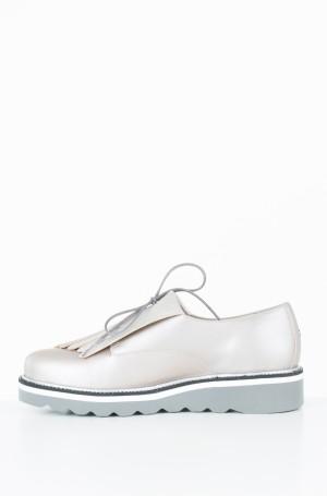 Vabaaja jalanõud Pearlized Leather Lace up Shoe-2