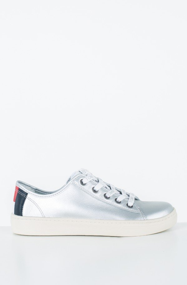 TOMMY JEANS LIGHT LEATHER LOW