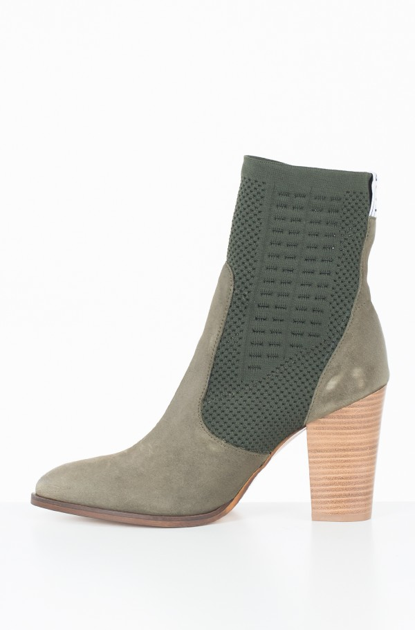 TOMMY KNIT HEELED BOOT-hover