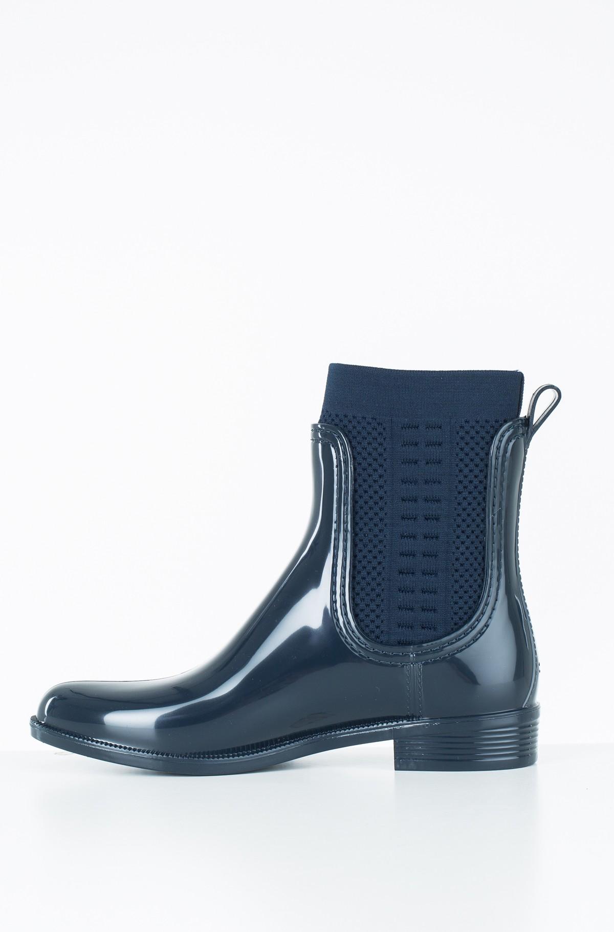 Guminiai batai TOMMY KNIT RAIN BOOT-full-3