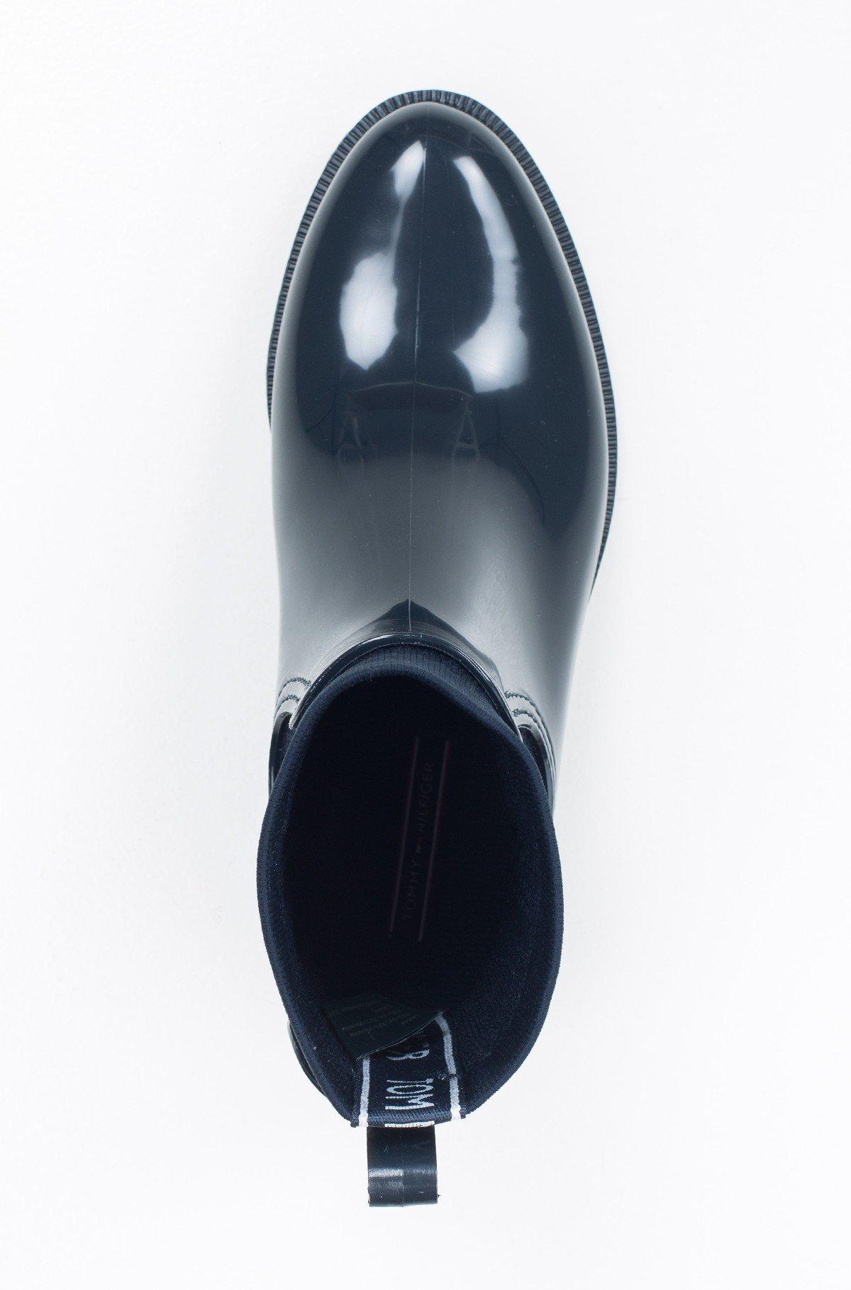 Guminiai batai TOMMY KNIT RAIN BOOT-full-4