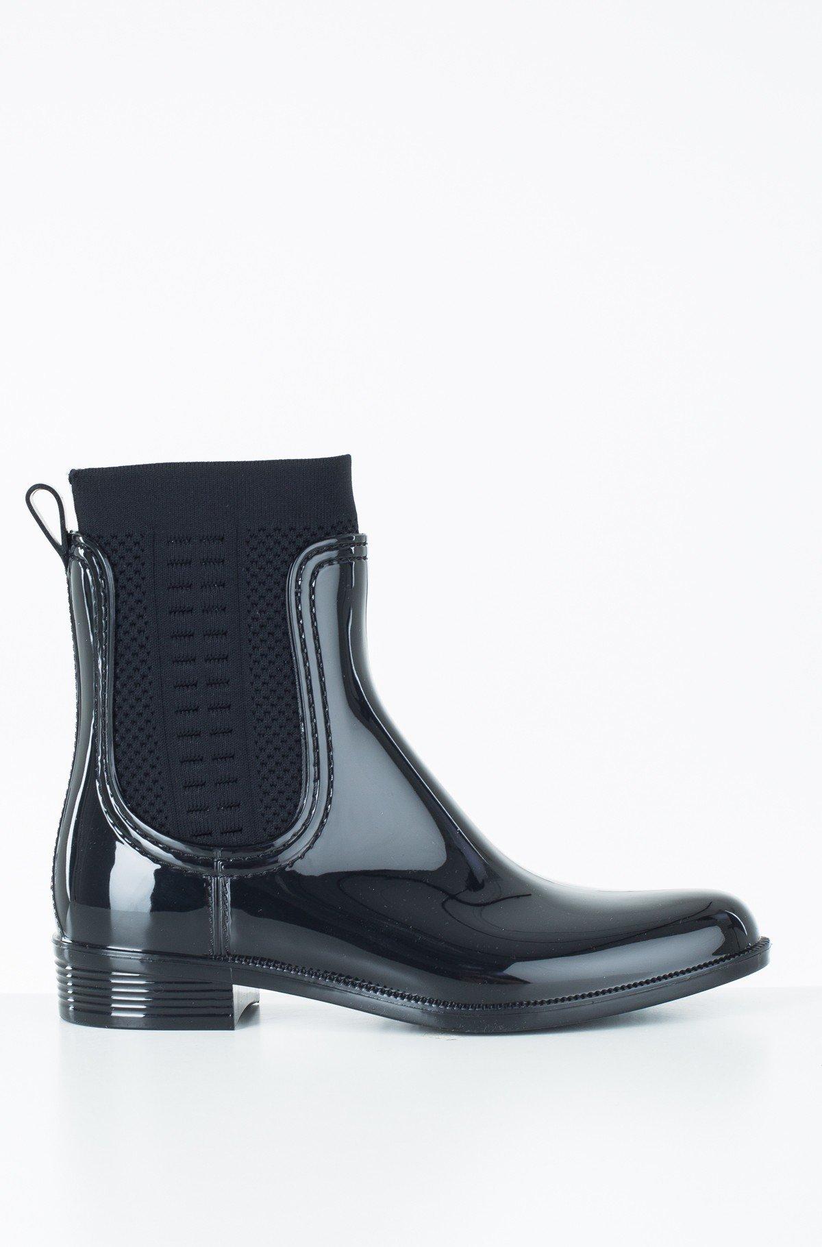 Guminiai batai TOMMY KNIT RAIN BOOT-full-1