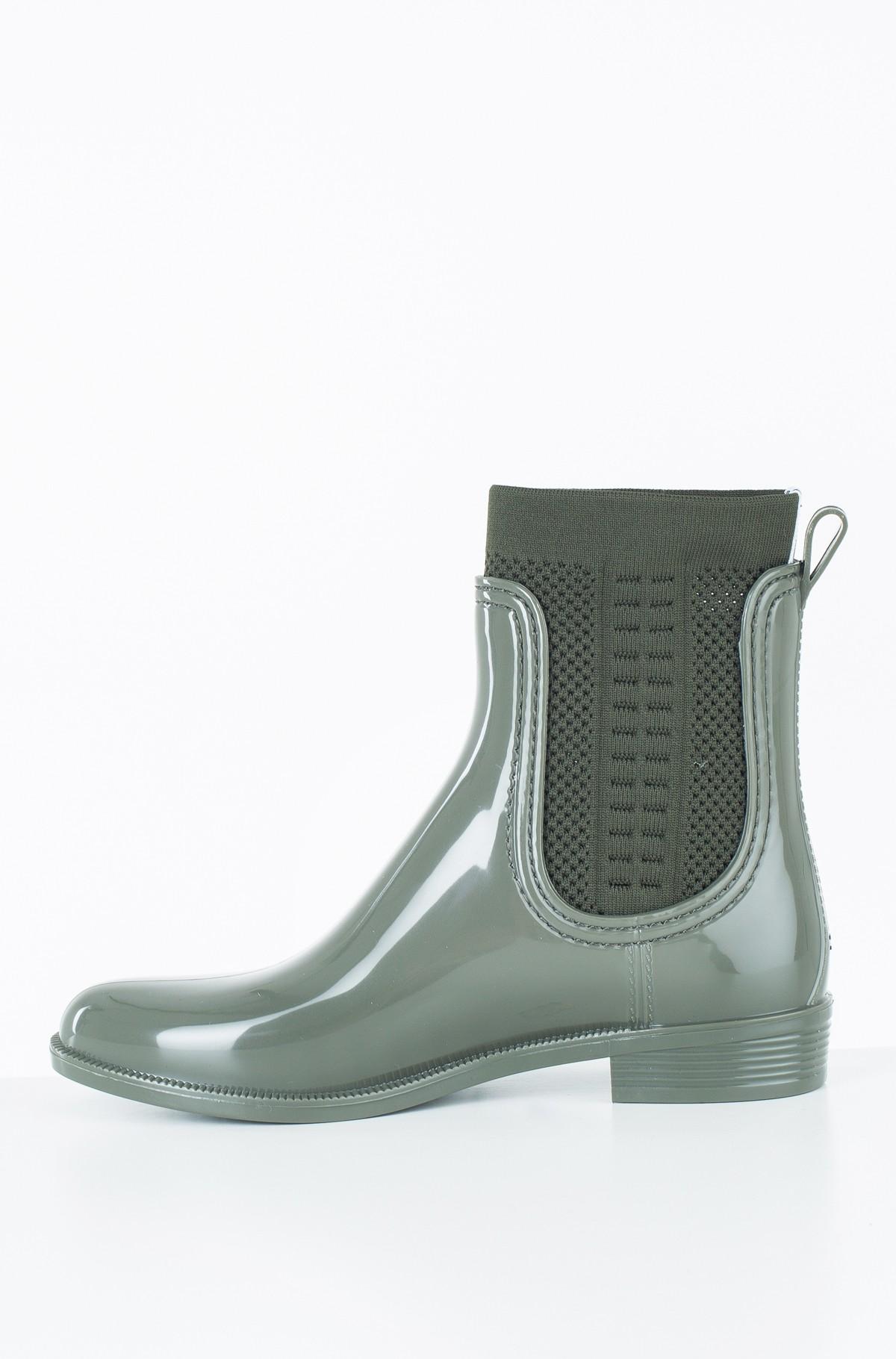 Guminiai batai TOMMY KNIT RAIN BOOT-full-2