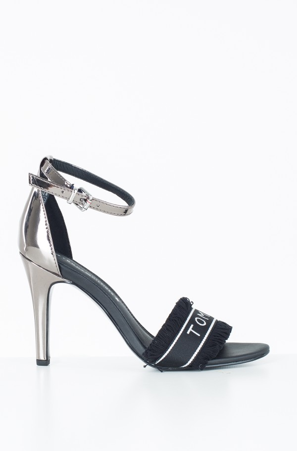 MIRROR METALLIC HEELED SANDAL