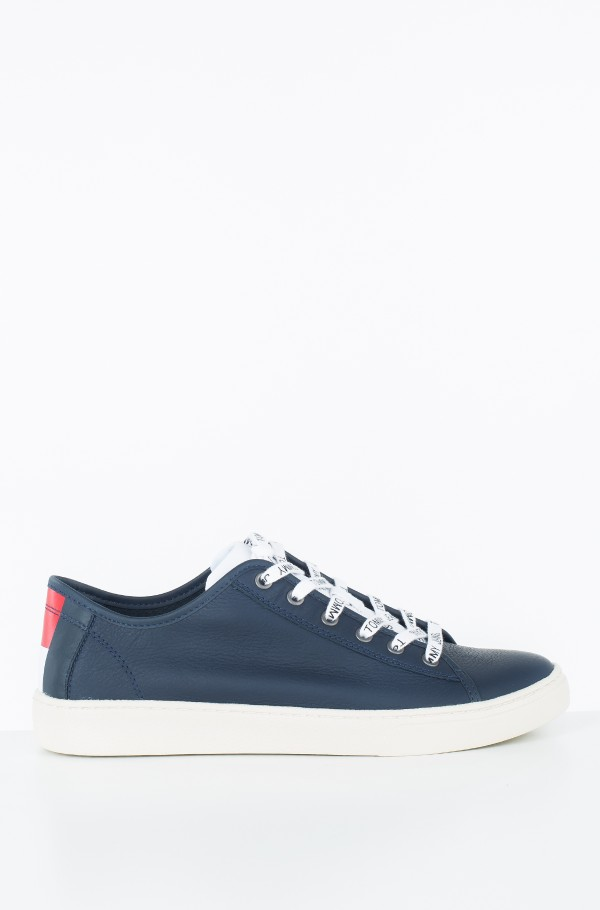 TOMMY JEANS LIGHT LEATHER LOW MEN