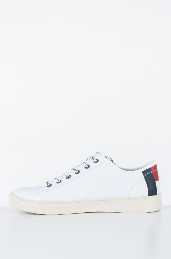 TOMMY JEANS LIGHT LEATHER LOW MEN-hover