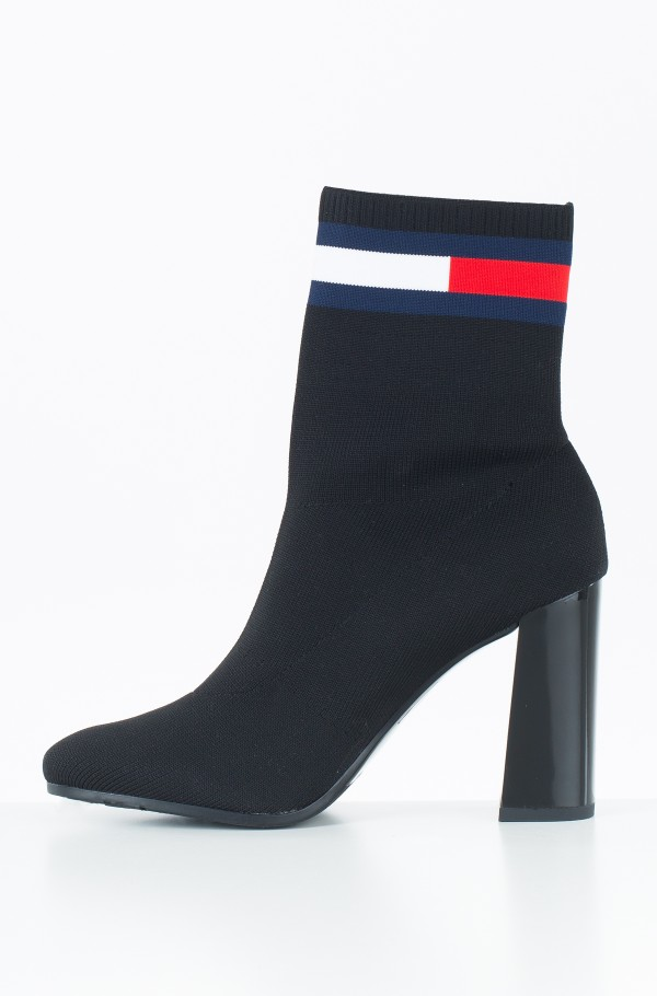 SOCK HEELED BOOT-hover
