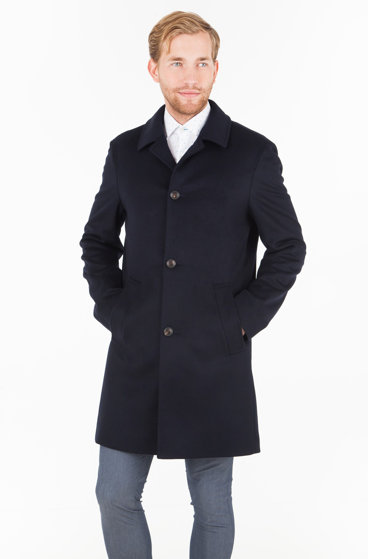 Paltas WOOL BLEND OVERCOAT	-full-1
