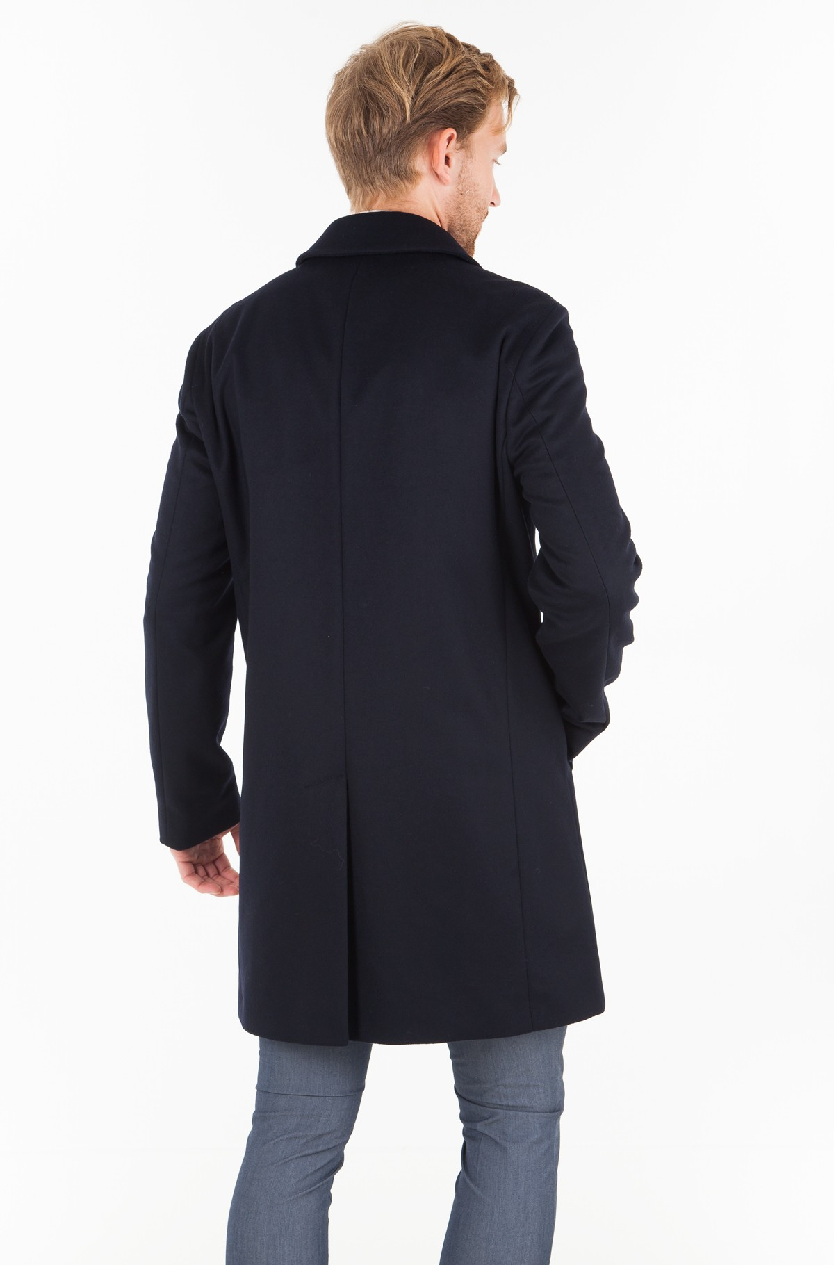Paltas WOOL BLEND OVERCOAT	-full-2