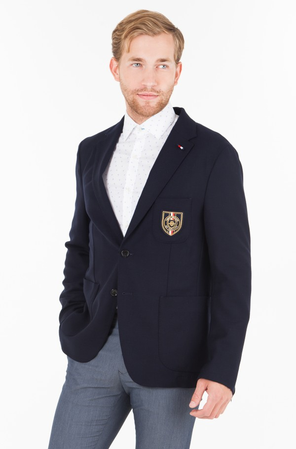 WOOL STRETCH  SLIM FIT BLAZER