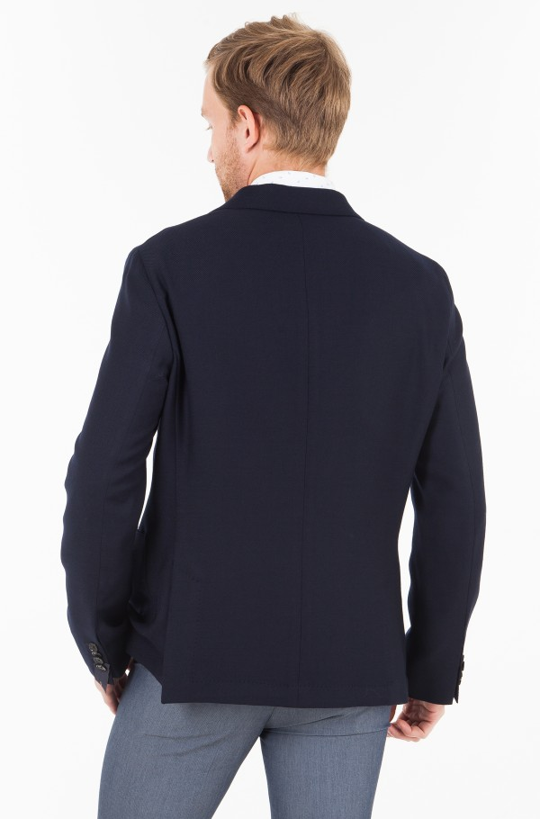 WOOL STRETCH  SLIM FIT BLAZER-hover