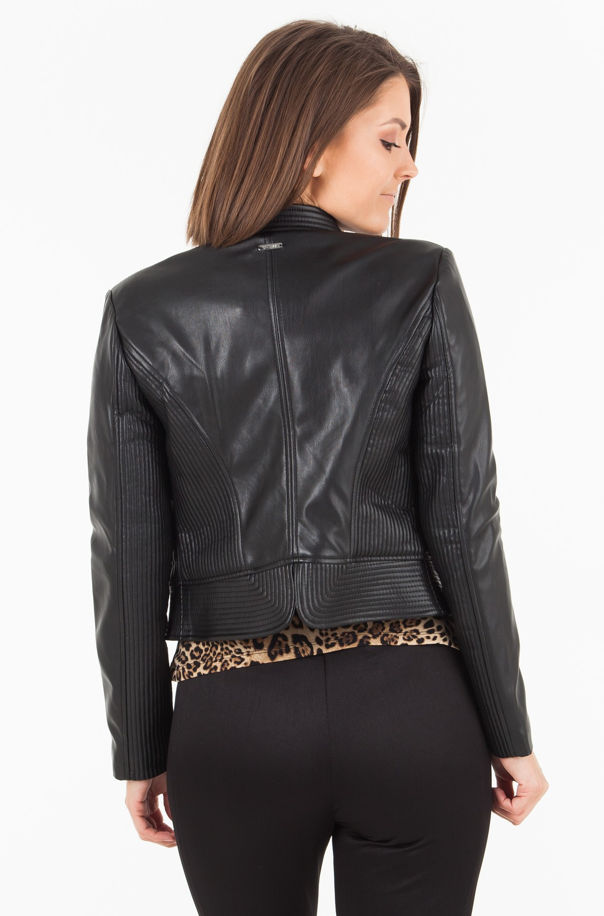 Leather jacket W84L71 WAOO0	-full-2