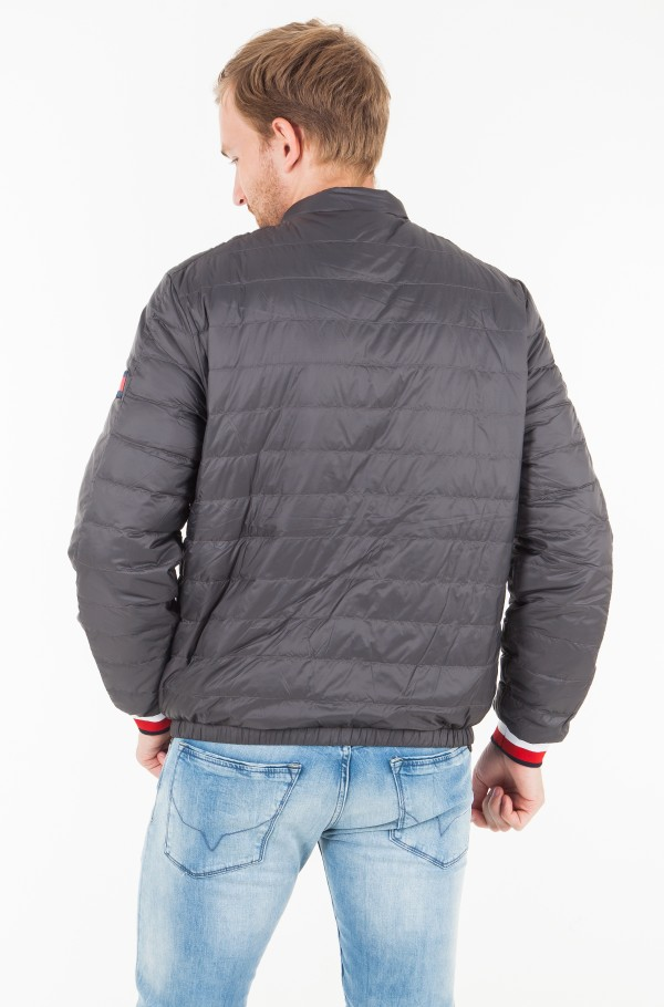 REVERSIBLE NYLON DOWN JACKET-hover