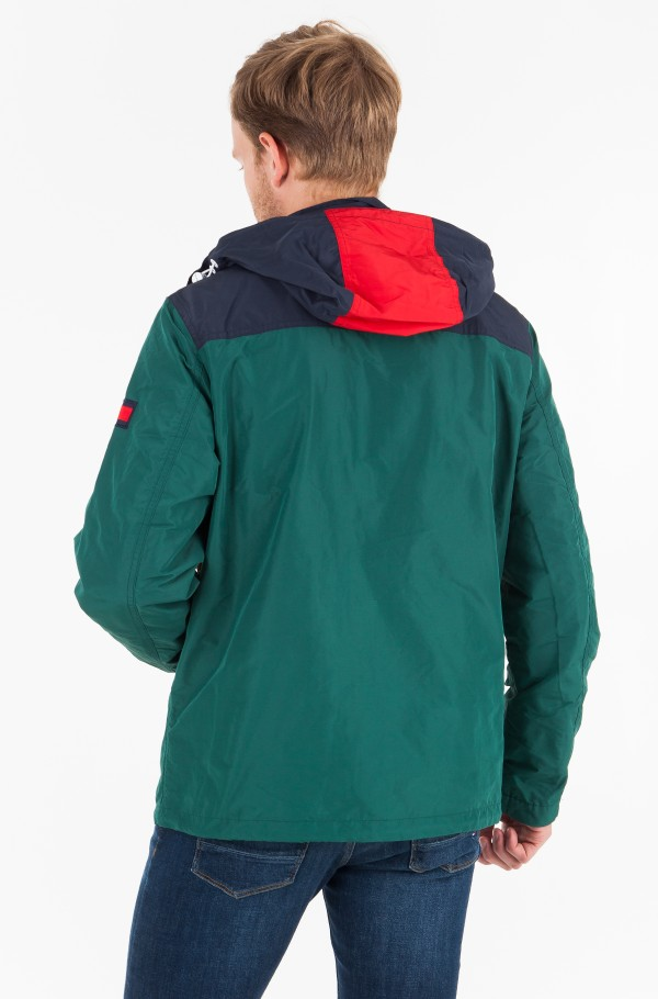 COLOR BLOCK FULL ZIP JACKET-hover