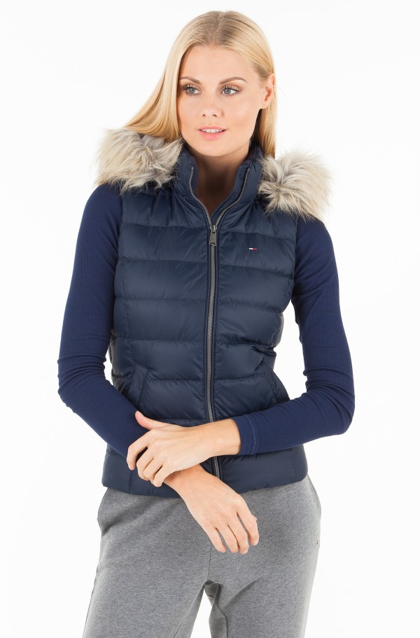 TJW ESSENTIAL HOODED DOWN VEST