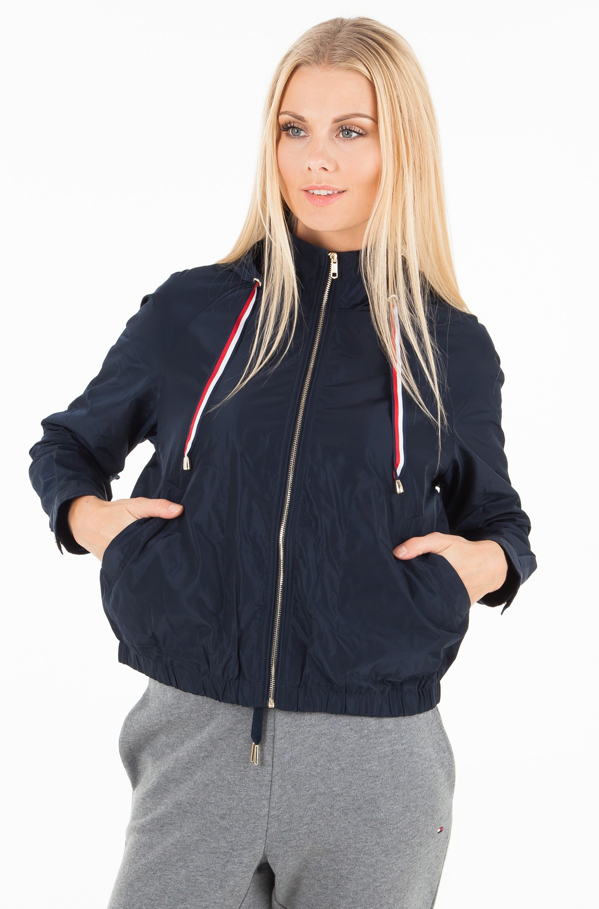 Plastic jacket  CORY SHORT PARKA-full-1