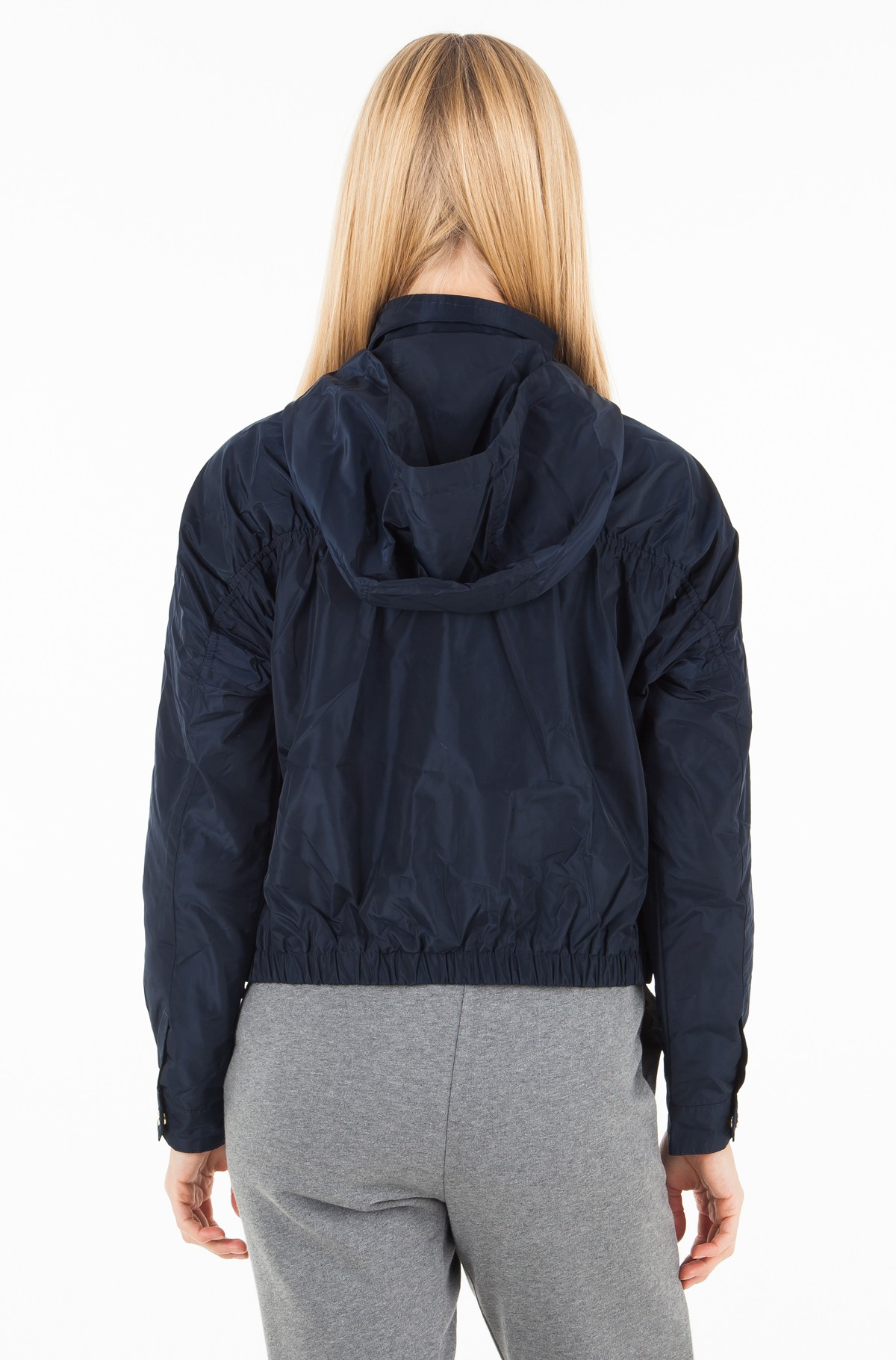 Plastic jacket  CORY SHORT PARKA-full-2