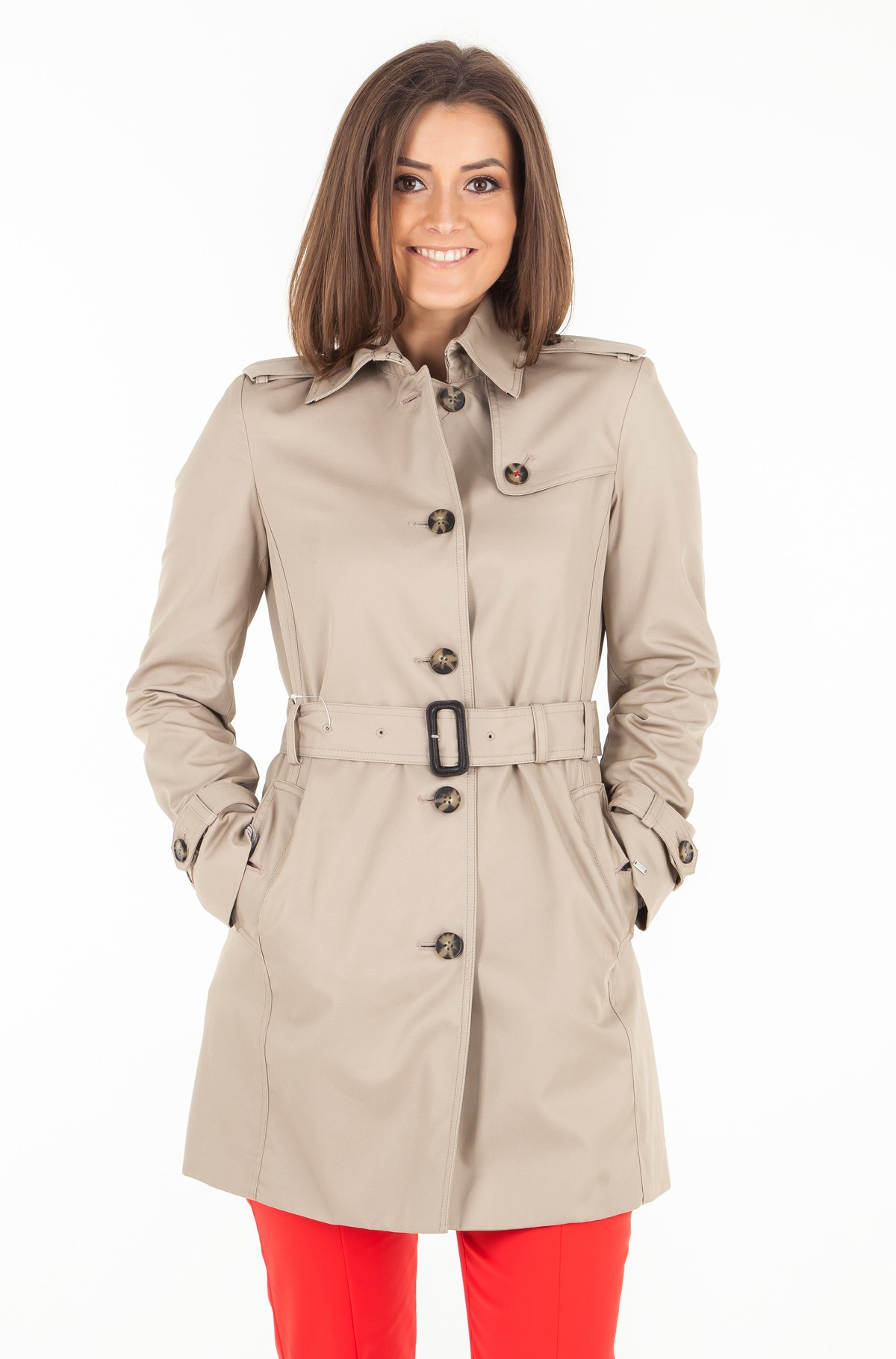 Coat Heritage Single Breasted Trench-full-1